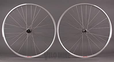 Velocity A23 Silver Rims 105 5800 32h Hubs Wheelset Road or CX Wheels