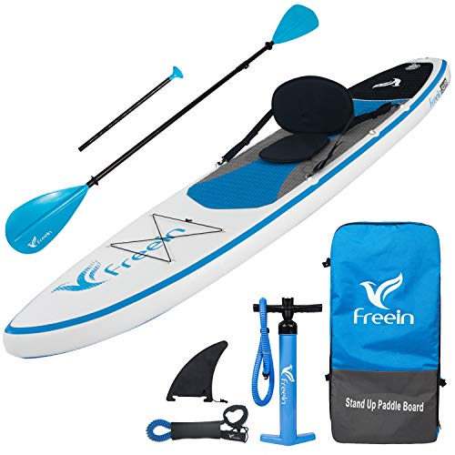 """Freein Stand Up Paddle Board Kayak SUP Inflatable Stand up Paddle Board SUP 10'/10'6""""x31 x6, 2..."""
