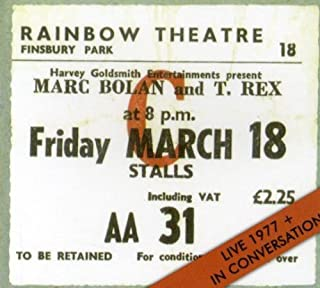 Live 1977 & In Conversation - Marc Bolan & T/Rex by Marc Bolan & T.Rex (2008-10-06)