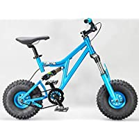 Mini Rig Rocker Mini Bicicleta BMX Verde Azulado Mini MTB Downhill Bike