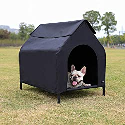 elevated portable pet house for shade