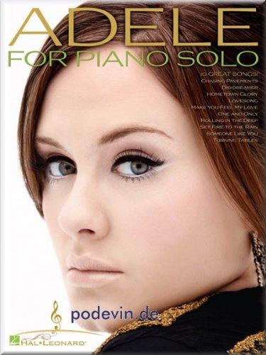 Adele for Piano Solo-PIANO [Partition]