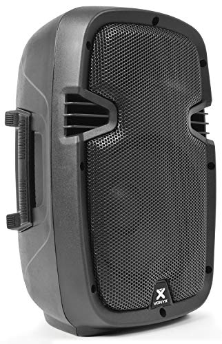 Skytec SPJ-800A - Bafle autoamplificado (8', 200 W, ABS, 115 dB)