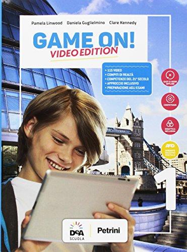 Game on! Student's book-Workbook. Ediz. video. Per la Scuola media. Con e-book. Con espansione online. Con Audio. Con DVD-ROM. Con Libro: Grammar-Maps [Lingua inglese]: 1