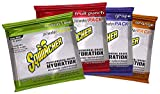 Sqwincher Powder Pack, Variety Pack, 23.83 oz Packet (Pack of 4)