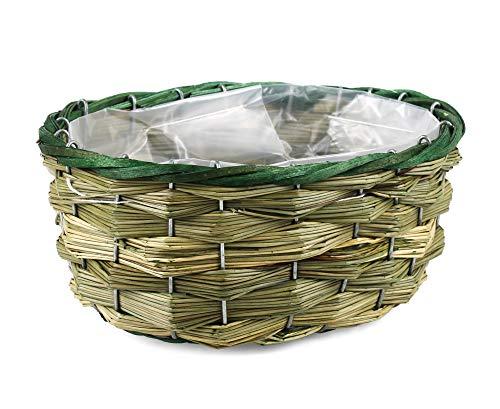 Tin Tours Panier pour Plantes en mer et Panier pour Pot de Fleurs 23 x 17 x 10 cm