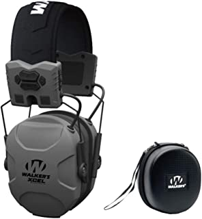 Walkers XCEL 500BT Digital Electronic Hearing Protection Muff (Bluetooth and Voice Clarity) with Protective Case Kit