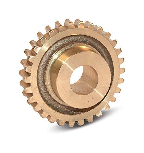 Boston Gear GB1050A Worm Gear, Plain, 14.5 PA Pressure Angle, 0.500