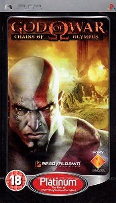 God of War: Chains of Olympus - Platinum Edition (PSP)