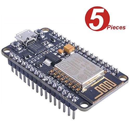 WINGONEER 5Pcs NodeMCU LUA WIFI Internet Development Board Based on ESP8266 CP2102