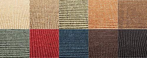 Floordirekt Sisal-Kratzteppich | ideal als Kratzmatte für Katzen | Ohne Kettelung | widerstandsfähig | Katzen-Kratzteppich in vielen Farben und Größen (Natur, 60 cm x 80 cm)