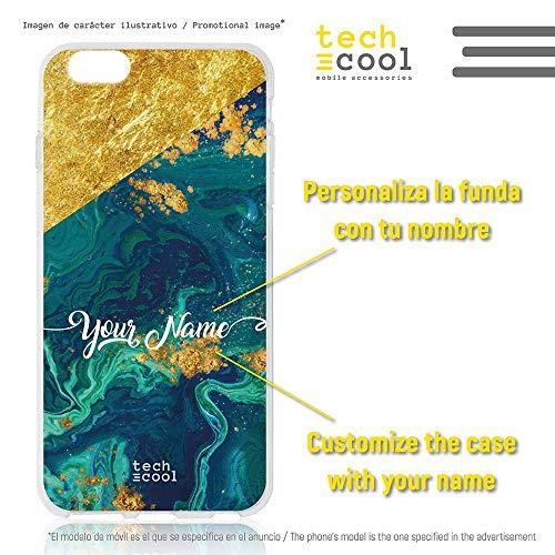 Funnytech® Funda Silicona para Motorola Moto G6 Plus [Gel Silicona Flexible, Diseño...