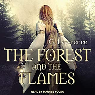 The Forest and the Flames audiobook cover art