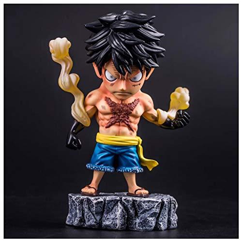 Tattoo Ruffy 18 cm / 7 Zoll One Piece Action Figure PVC Sammlerstücke oder Kinder Teens Männer und Anime Fans