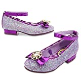 Disney Rapunzel Costume Shoes for Kids - Tangled: The Series Size 7/8 TODLR Purple