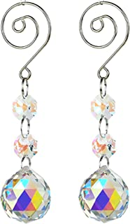 SunAngel Colorful Jewelry Crystals Pendants &Chandelier Suncatchers Prisms Hanging Ornament Prisms Rainbow for Home,Offic...