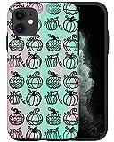CASFY - Funda para teléfono compatible con iPhone 11, diseño de calabazas holográficas KU007_7, diseño de moda, accesorios para teléfono