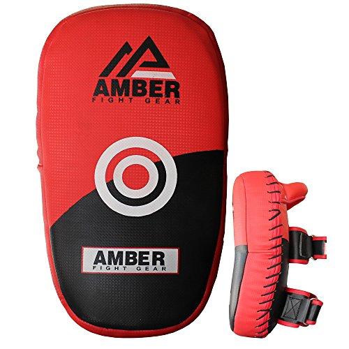 Amber Fight Gear EUTP Paire de Pattes d'ours Unisex Adult, Multicolore, 28cm