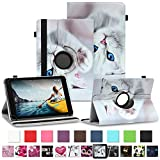 NAUC Tablet Schutzhülle für Medion Lifetab P8912 Hülle Tasche Standfunktion 360° Drehbar Cover Universal Hülle, Farben:Motiv 10