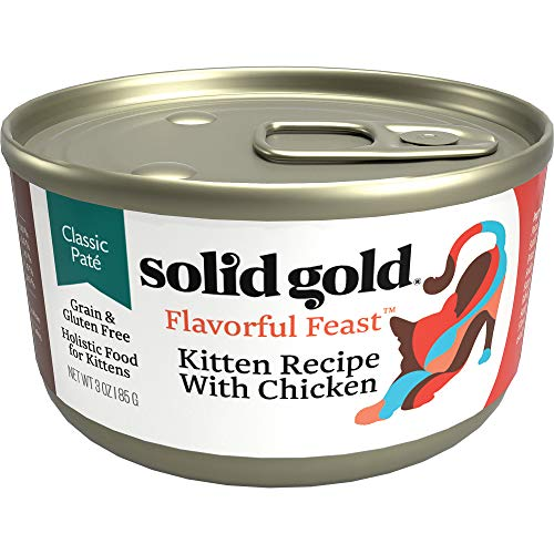 Solid Gold Grain Free Flavorful Feast Chicken Kitten Recipe Wet Food