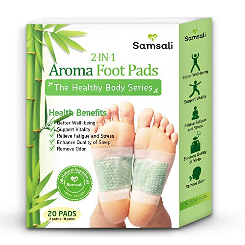 Samsali Foot Pads, Upgraded 2 in 1 Nature Foot...