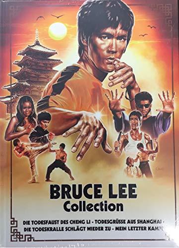 Bruce Lee Collection Mediabook u.a. Mein letzter Kampf [Blu-ray]