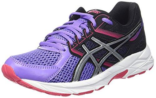 Asics Zapatillas de Running Gel-Contend 3 Lila/Negro/Plata EU 37.5 (US 6H)