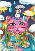 300ピース ジグソーパズル 猫の男爵動物風景420x481 ジグソーパズル クラシック 300/500/1000/1500