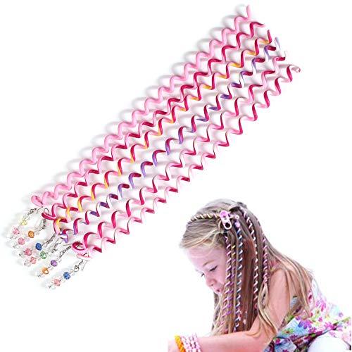 6 Pezzi Ragazza Accessori Capelli Spirale, Accessori Capelli Spirale Colorati, Accessori Capelli Spirale, Elastici Capelli Fai Da Te Accessori Per Ragazza, Donna