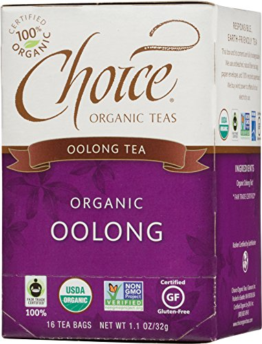 Choice Organic Teas Oolong Tea, 16 Count