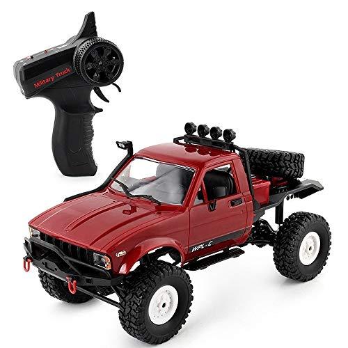SIMR6 Alta Velocidad 4x4 2.4 GHz Radio Control Remoto Coche RC Off Road Hobby Eléctrico Carreras rápidas Rock Crawlers Monster Truck Pies Grandes Aleación Grande 4WD Deriva Coches de Escalada Regalos