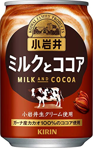 小岩井 ミルクとココア 280g×24本 缶