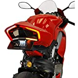 New Rage Cycles LED Fender Eliminator with Side Plate Mount Compatible for Ducati Panigale V2 2020