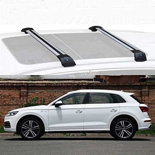 LLDS Aluminiumlegierung Dachträger Querstange Dachspannstangen Kompatibel mit Q5 2013-19 (Size : for Audi Q5 2018)