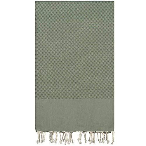 Lantara Sofa Gooi Bedsprei Stoelovertrek Sprei Katoen - 195x300cm - Groen