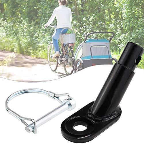 Gcroet Fahrradanhänger Tandem Fahrradanhänger Fahrradanhänger für Kinder Anhängerkupplung Adapter Fahrrad Hinten Trägerhalterung Fahrradzubehör für Kinder Haustier Cargo Fahrradanhänger