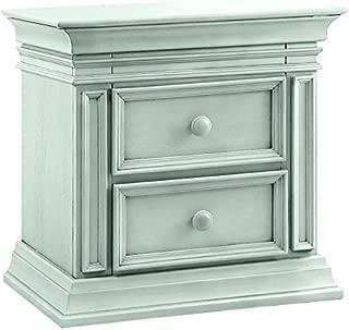 baby cache vienna nightstand ash gray