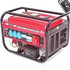Elstart Bensin Generator 9500E Generator 230V 400V 66265 Power Unit AWZ