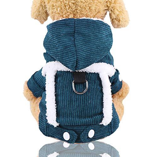 Pet Dog Clothes hondenpullover, zacht, dik XX-Large D donkergroen.