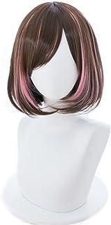 耐熱コスプレウィッグ 二番目の城 アイちゃん パーティー 変装 カツラ wig +おまけ2点