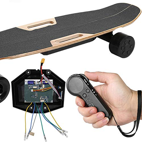 Okuyonic Controlador de monopatín eléctrico de Cuatro Ruedas de Alta sensibilidad Controlador...