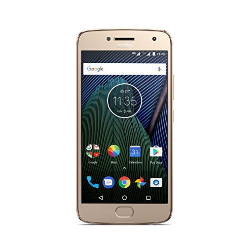 Moto G 5ª Generación Plus - Smartphone libre Android 7 (pa