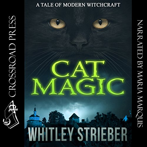 Cat Magic audiobook cover art
