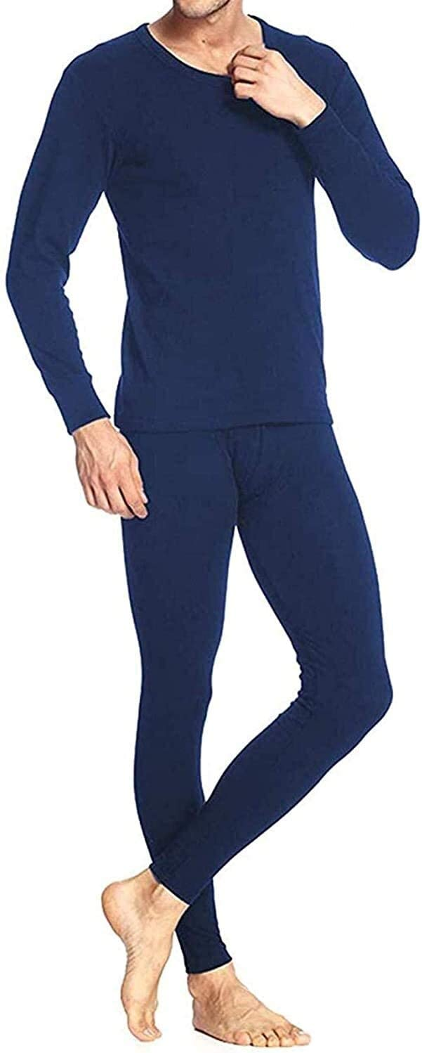 Fashion Thermal Underwear Thermal Underwear Men Set Long Sleeve Breathable Base Layers Lightweight and Comfortable for Outdoor Winter Activities Including Skiing Hiking (Color : A, Size : Small)