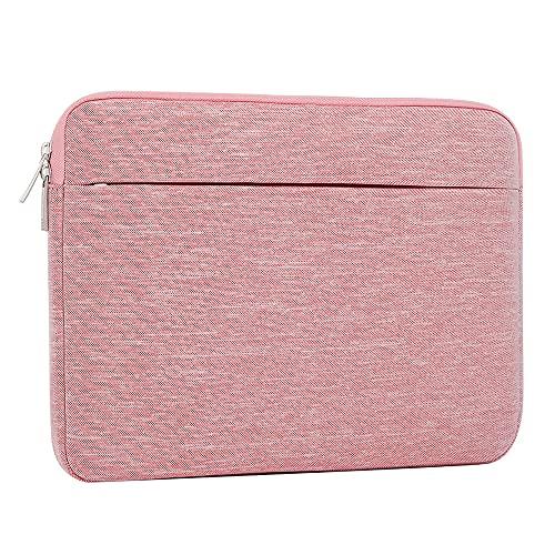 AtailorBird Laptoptasche, Laptophülle 15,6 Zoll Stoßfest Notebooktasche Laptop Schutzhülle Notebook Sleeve Hülle PC Laptop Schutztasche(Rosa)