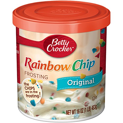Betty Crocker Rich & Creamy - Rainbow Sprinkle Frosting (453g)
