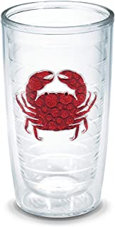 """TERVIS Tumbler, 16-Ounce, """"Red Crab"""", Clear - 1097042"""