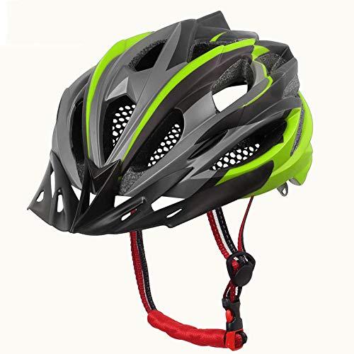 nohbi Casque Vélo de Protection Réglable Ultraléger,Casques d'équitation Outdoor pour Hommes et Femmes, Casques de vélo de Montagne - Jaune,Casque de vélo sécuritaire