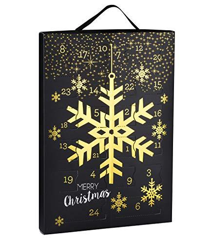 SIX Damenschmuck Adventskalender: 24 Überraschungen in Form schöner Schmuckstücke wie Ohrringe, Ketten und Armbänder (388-320)