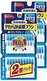 糸ようじ 小林製薬 やわらか歯間ブラシ 細いタイプ SS-Mサイズ 80本 (40本×2個入り)